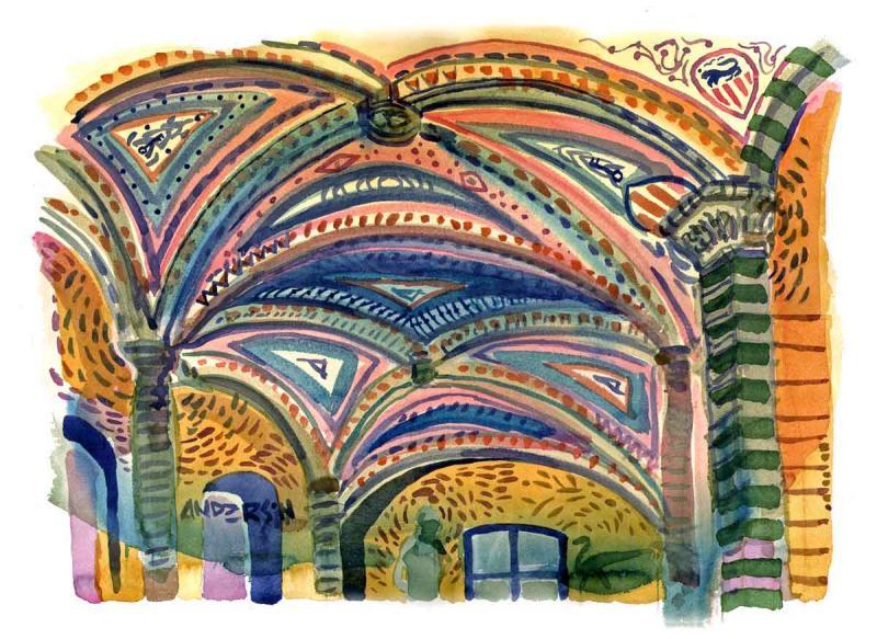 Florentine Ceiling