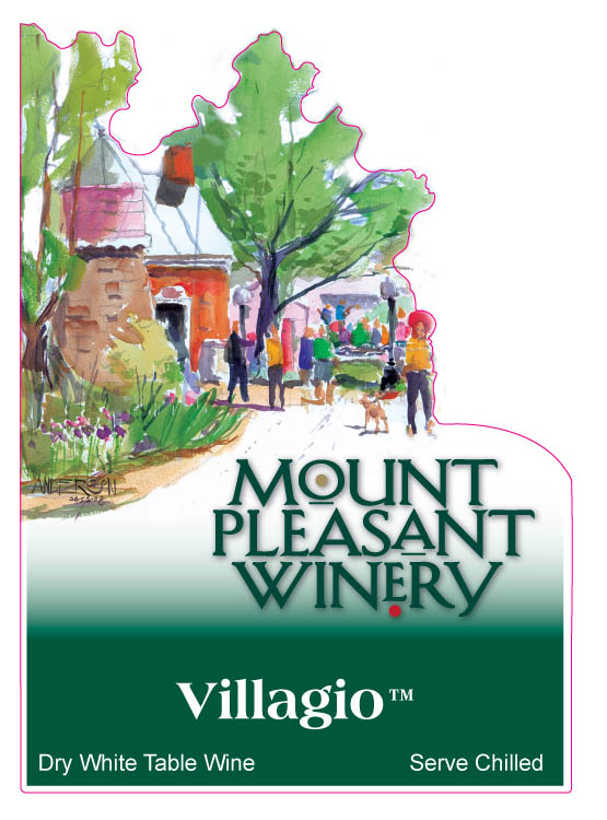 Mt. Pleasant wine label, Michael Anderson
