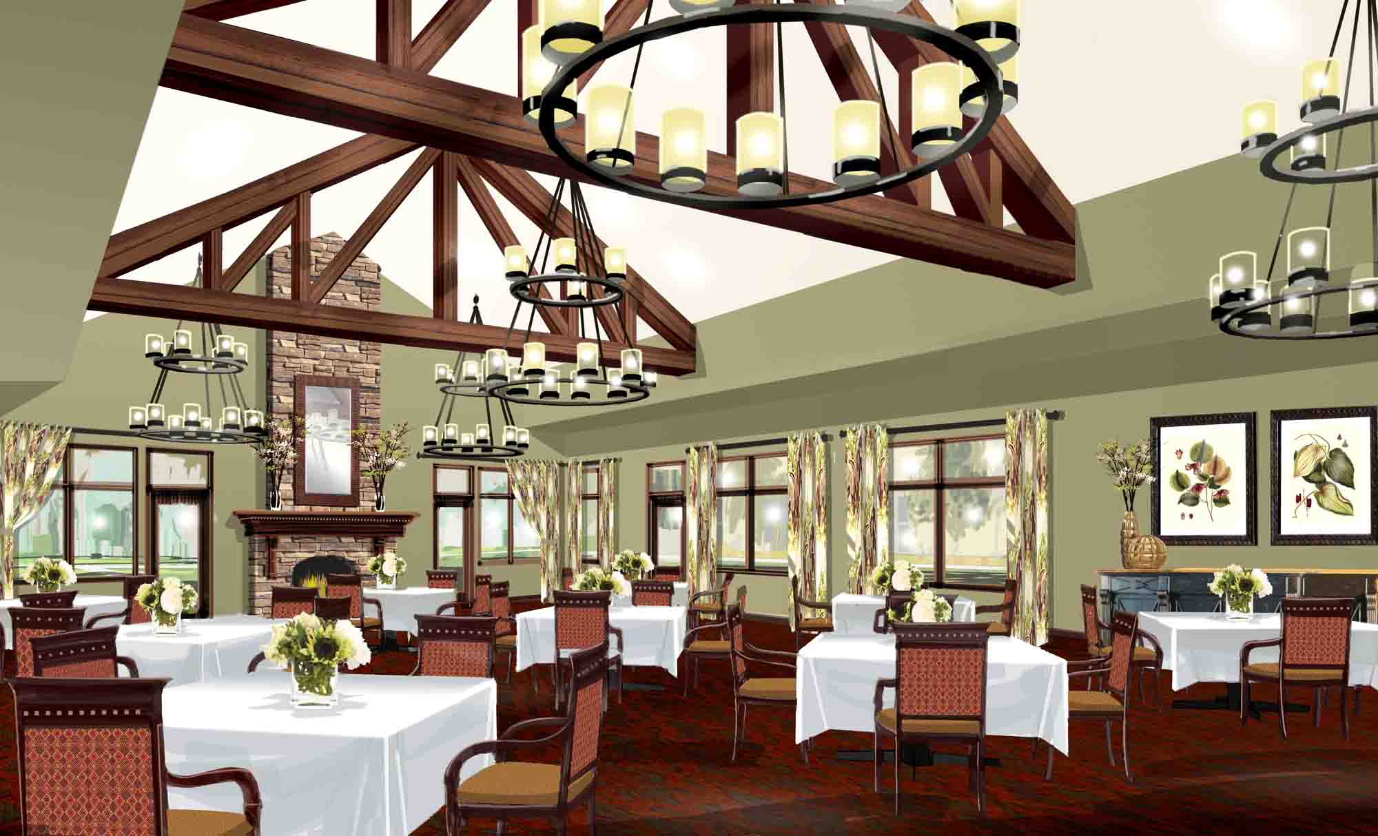 Care Facility Dining Concept, Spellman Brady & Co.