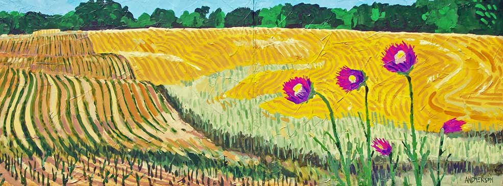 Michael Anderson, Thistles And Fields